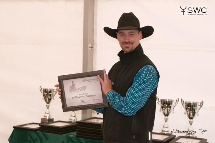 2nd Reserve Champion - jezdec: Adam Punčochář a kůň: SDP Back In Black