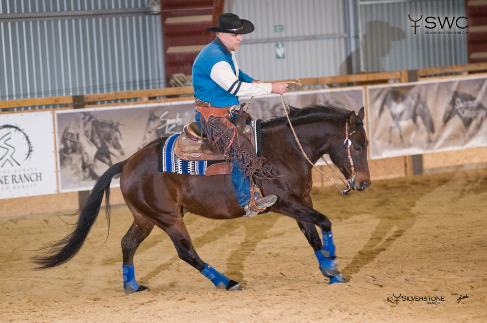 Working Cow Horse Non-Pro Bridle Reserve Champion Doc Tom Equalizer a Zoltan Szalontai